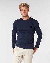 Vêtements Homme T-shirts manches longues Lacoste TH6712 Marine