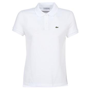 Vêtements Femme Polos manches courtes Lacoste PF7839 Classic Blanc