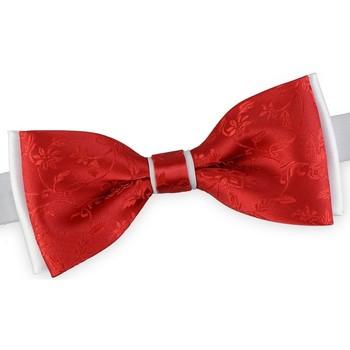 Vêtements Homme Cravates et accessoires Dandytouch Noeud papillon Flo Blanc-Rouge