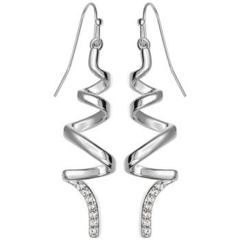 Montres & Bijoux Femme Boucles d'oreilles Sc Crystal BS1549-BO Argenté