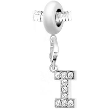 Montres & Bijoux Femme Pendentifs Sc Crystal BEA0044+CH0022-ARGENT Argenté