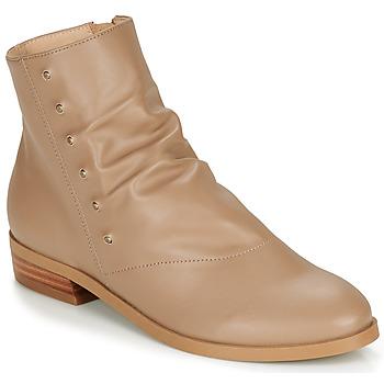 Schuhe Damen Boots André ELIPSE Camel