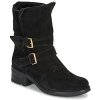 Schuhe Damen Boots André MAJOLIE Schwarz