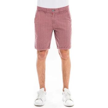 Vêtements Shorts / Bermudas Waxx Short Chino SUNLIT Rouge bordeaux