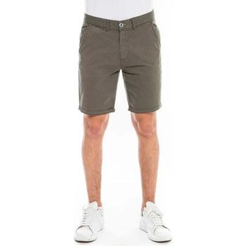 Vêtements Shorts / Bermudas Waxx Short Chino SUNLIT Vert Kaki