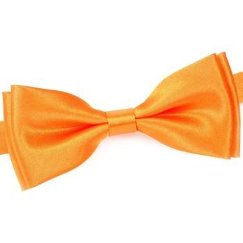 Vêtements Homme Cravates et accessoires Dandytouch Noeud papillon uni Orange
