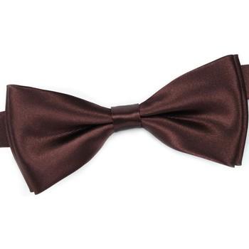 Vêtements Homme Cravates et accessoires Dandytouch Noeud papillon uni Marron