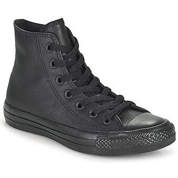 Chaussures Baskets montantes Converse CHUCK TAYLOR ALL STAR CUIR  HI Noir