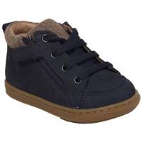 Chaussures Garçon Boots Shoo Pom bouba bi wool bleu