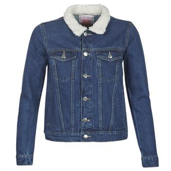 Abbigliamento Donna Giacche in jeans Moony Mood LOTITO Blu / Medium