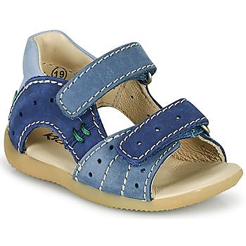 Chaussures Garçon Sandales et Nu-pieds Kickers BOPING-3 Bleu