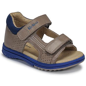 Schuhe Jungen Sandalen / Sandaletten Kickers PLAZABI