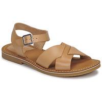 Schuhe Damen Sandalen / Sandaletten Kickers TILLY Beige