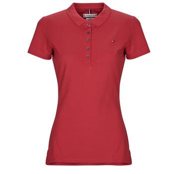 Abbigliamento Donna Polo maniche corte Tommy Hilfiger NEW CHIARA Rosso
