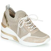 Schuhe Damen Sneaker Low Mustang 1303303-4 Beige