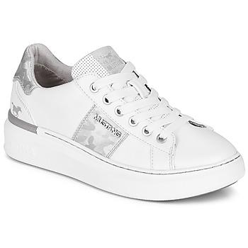 Schuhe Damen Sneaker Low Mustang 1351304-121