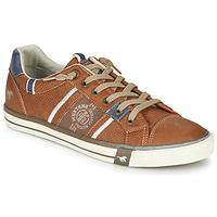 Schuhe Herren Sneaker Low Mustang 4072308-307 Kognac