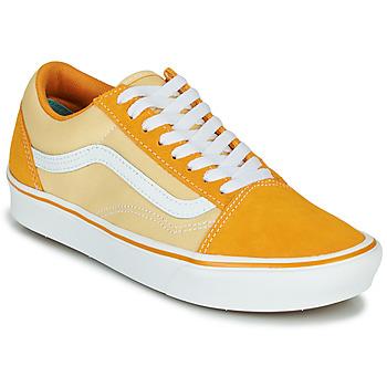 Chaussures Femme Baskets basses Vans COMFYCUSH OLD SKOOL (Suede/Textile) cadmium yellow/golden haze