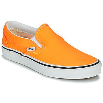 Chaussures Femme Slip ons Vans CLASSIC SLIP-ON NEON (Neon) blazing orange/true white