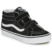 Chaussures Enfant Baskets montantes Vans SK8-MID REISSUE V Black/True White