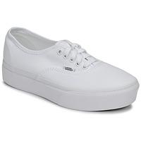 Chaussures Femme Baskets basses Vans AUTHENTIC PLATFORM 2.0 true white