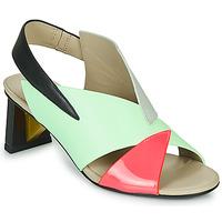 Chaussures Femme Sandales et Nu-pieds United nude SPARK SANDAL MID Bleu / Rose