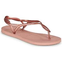 Chaussures Femme Tongs Havaianas LUNA CROCUS ROSE