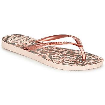 Schuhe Damen Zehensandalen Havaianas SLIM ANIMALS