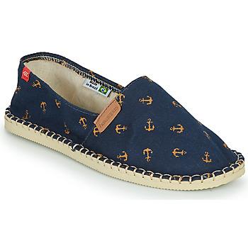 Chaussures Espadrilles Havaianas ORIGINE BEACH NAVY