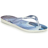 Chaussures Fille Tongs Havaianas KIDS SLIM FROZEN TBD