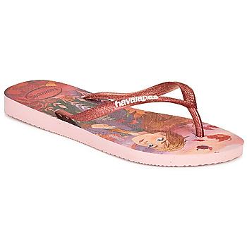 Schuhe Mädchen Zehensandalen Havaianas KIDS SLIM FROZEN