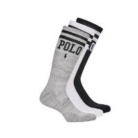 Accessoires Herren Socken & Strümpfe Polo Ralph Lauren 3PK DBLE BAR-CREW-3 PACK