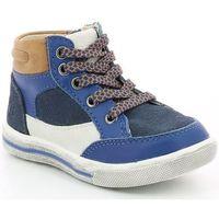 Chaussures Garçon Baskets montantes Mod'8 Stanis BLEU