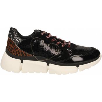 Chaussures Femme Baskets basses Nira Rubens STINGER RUNNING CUORE GLAM DARK nero-leopard
