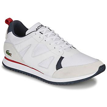 Schuhe Herren Sneaker Low Lacoste AESTHET 120 2 SMA Weiß / Blau / Rot