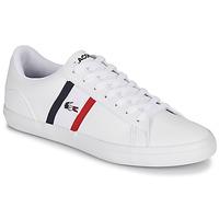 Chaussures Homme Baskets basses Lacoste LEROND TRI1 CMA Blanc / Bleu / Rouge
