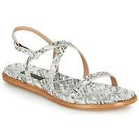Schuhe Damen Sandalen / Sandaletten Neosens AURORA Weiß / Silber