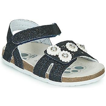 Schuhe Mädchen Sandalen / Sandaletten Chicco HELENA Marineblau
