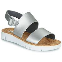 Chaussures Femme Sandales et Nu-pieds Camper ORUGA Silver