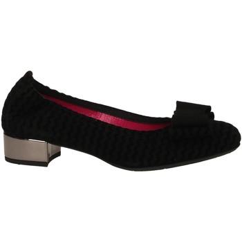 Chaussures Femme Ballerines / babies Le Babe CAMOSCIO nero