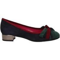 Chaussures Femme Escarpins Le Babe VELOUR blu