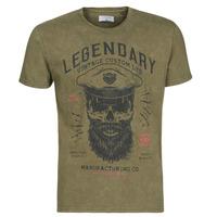 Vêtements Homme T-shirts manches courtes Casual Attitude MCOOL kaki