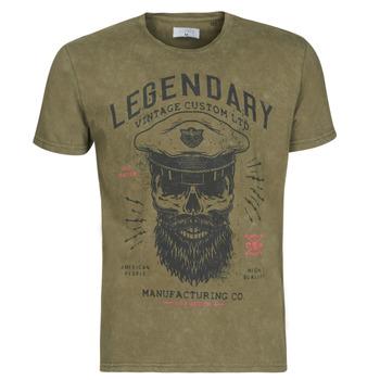 Vêtements Homme T-shirts manches courtes Yurban MCOOL kaki