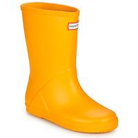Schuhe Kinder Gummistiefel Hunter KIDS FIRST CLASSIC Gelb
