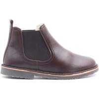 Chaussures Enfant Boots Boni & Sidonie Boots fourrées en laine de mouton - SERGUEI Marron