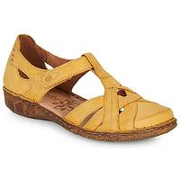 Schuhe Damen Sandalen / Sandaletten Josef Seibel ROSALIE 29 Gelb