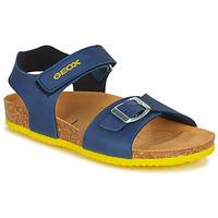 Chaussures Garçon Sandales et Nu-pieds Geox GHITA BOY AVIO