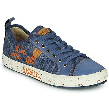 Chaussures Garçon Baskets basses Geox J ALONISSO BOY NAVY