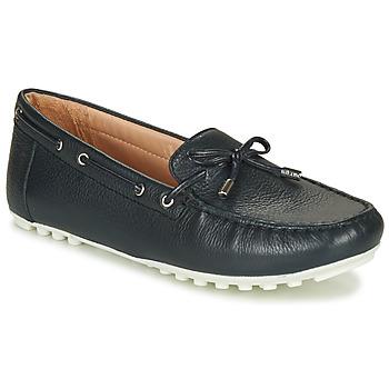 Chaussures Femme Mocassins Geox D LEELYAN NAVY