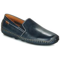 Schuhe Herren Slipper Pikolinos JEREZ 09Z Marineblau
